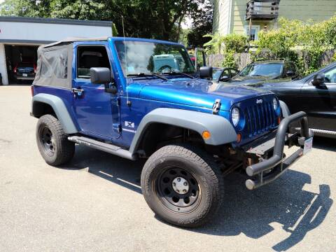 2009 Jeep Wrangler for sale at Landes Family Auto Sales in Attleboro MA