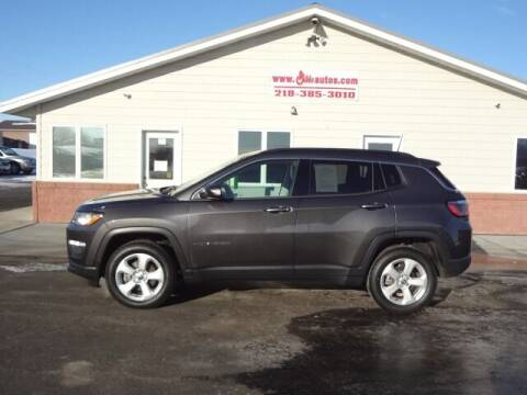 2018 Jeep Compass for sale at GIBB'S 10 SALES LLC in New York Mills MN