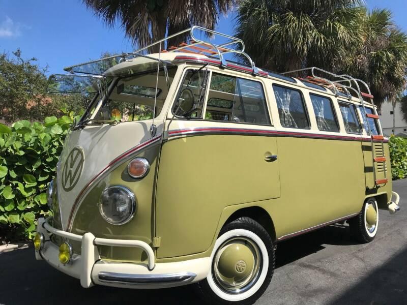 1974 Volkswagen Bus for sale at DS Motors in Boca Raton FL