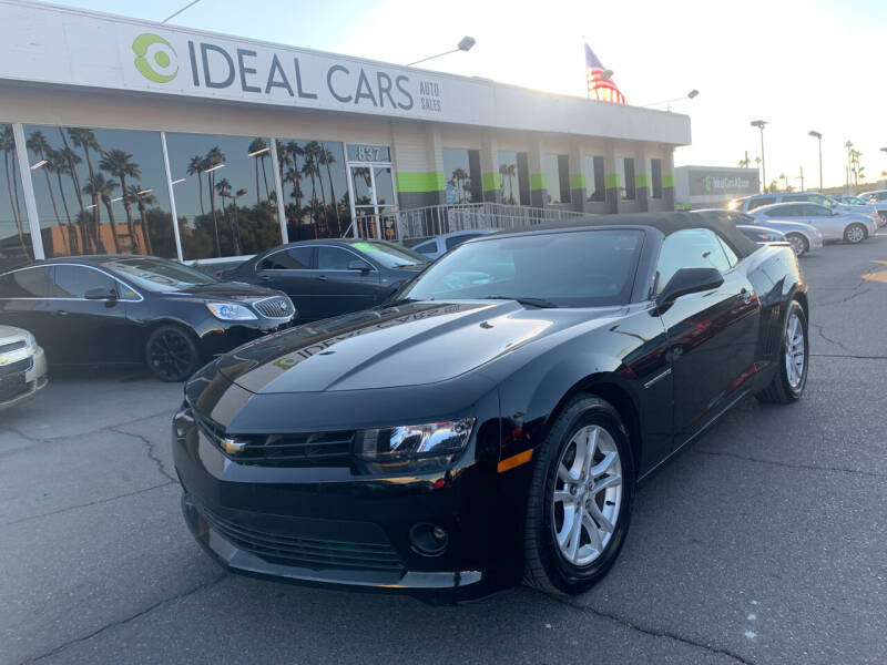 2015 Chevrolet Camaro for sale at Ideal Cars in Mesa AZ