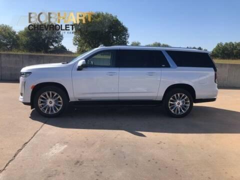 2021 Cadillac Escalade ESV for sale at BOB HART CHEVROLET in Vinita OK