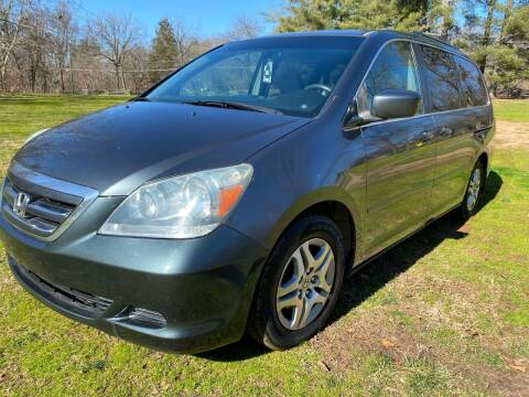 2006 Honda Odyssey for sale at Rodeo Auto Sales Inc in Winston Salem NC