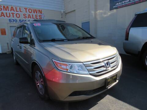 2012 Honda Odyssey for sale at Small Town Auto Sales in Hazleton PA