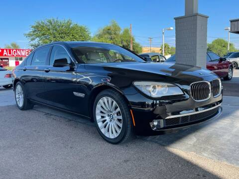 2011 BMW 7 Series for sale at TANQUE VERDE MOTORS in Tucson AZ
