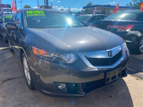 2010 Acura TSX for sale at GRAND USED CARS  INC in Little Ferry NJ