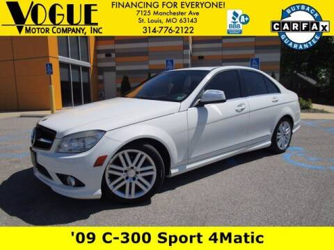 2009 Mercedes-Benz C-Class for sale at Vogue Motor Company Inc in Saint Louis MO