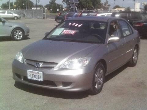 2004 Honda Civic for sale at Valley Auto Sales & Advanced Equipment in Stockton CA