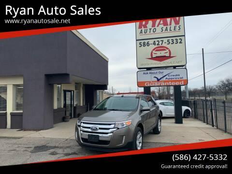 2014 Ford Edge for sale at Ryan Auto Sales in Warren MI