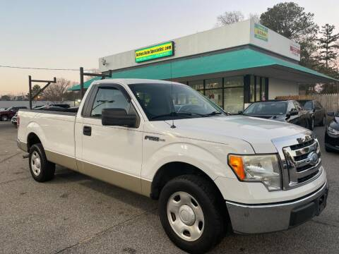2009 Ford F-150 for sale at Action Auto Specialist in Norfolk VA