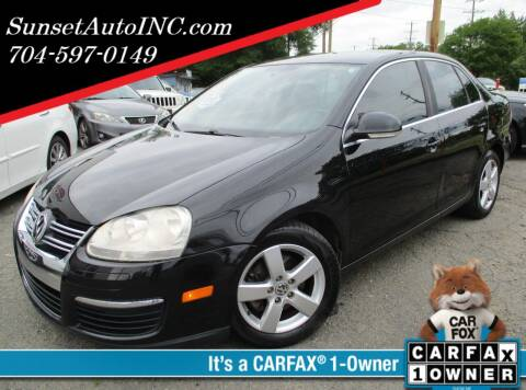 2008 Volkswagen Jetta for sale at Sunset Auto in Charlotte NC