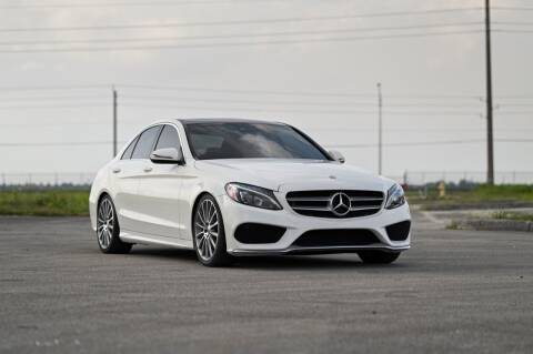 2016 Mercedes-Benz C-Class for sale at EURO STABLE in Miami FL