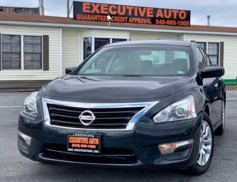 2015 Nissan Altima for sale at Executive Auto in Winchester VA