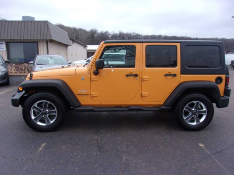 2012 Jeep Wrangler Unlimited for sale at Welkes Auto Sales & Service in Eau Claire WI