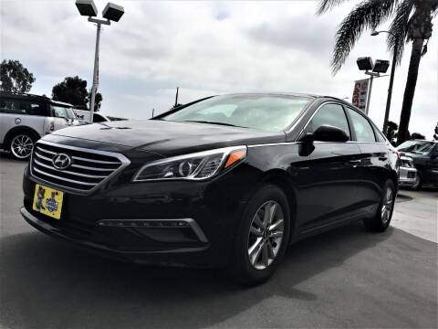 2015 Hyundai Sonata for sale at CARSTER in Huntington Beach CA