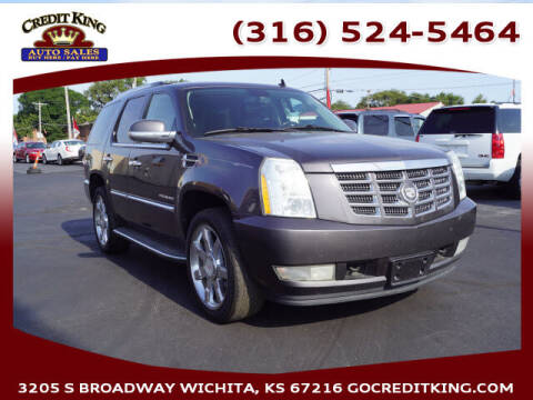 2011 Cadillac Escalade for sale at Credit King Auto Sales in Wichita KS