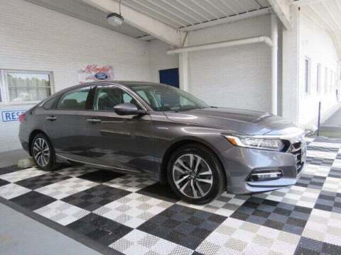 2019 Honda Accord Hybrid for sale at McLaughlin Ford in Sumter SC