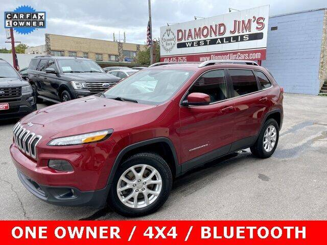 2014 Jeep Cherokee for sale at Diamond Jim's West Allis in West Allis WI