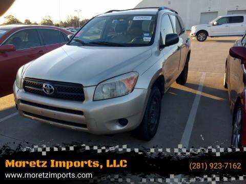 2008 Toyota RAV4 for sale at Moretz Imports, LLC in Spring TX
