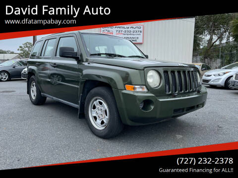 2007 Jeep Patriot for sale at David Family Auto in New Port Richey FL