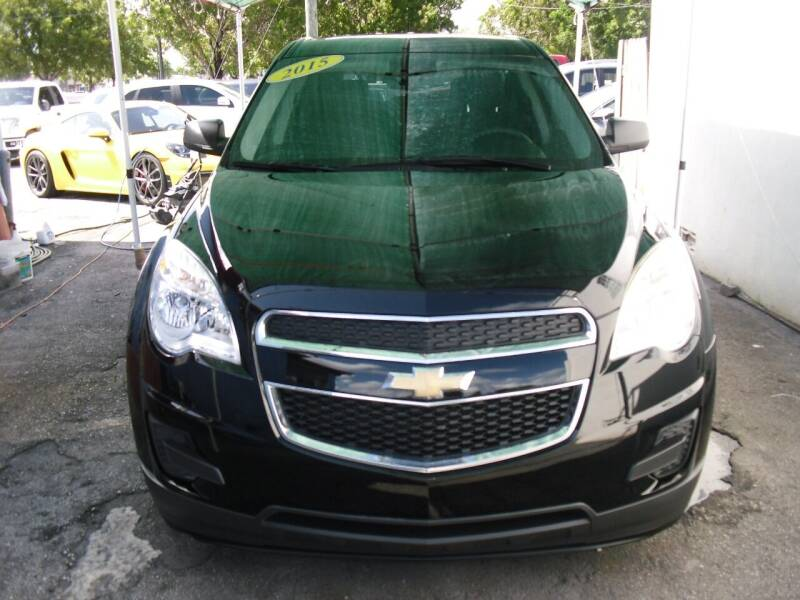 2015 Chevrolet Equinox for sale at SUPERAUTO AUTO SALES INC in Hialeah FL