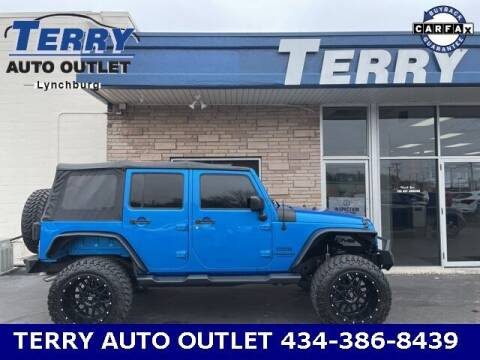 2015 Jeep Wrangler Unlimited for sale at Terry Auto Outlet in Lynchburg VA