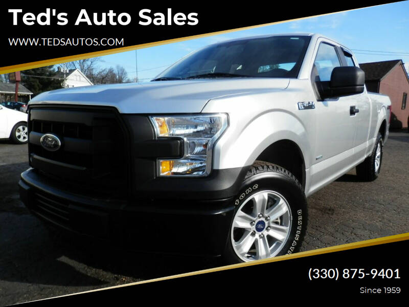 2015 Ford F-150 for sale at Ted's Auto Sales in Louisville OH