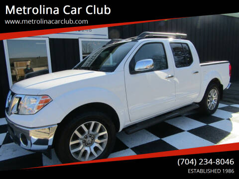 2011 Nissan Frontier for sale at Metrolina Car Club in Matthews NC