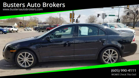 2008 Ford Fusion for sale at Busters Auto Brokers in Mitchell SD