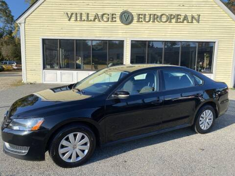 2013 Volkswagen Passat for sale at Village European in Concord MA