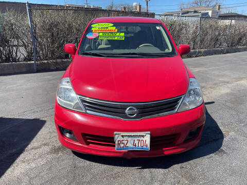 2010 Nissan Versa for sale at RON'S AUTO SALES INC in Cicero IL