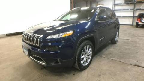 2018 Jeep Cherokee for sale at Waconia Auto Detail in Waconia MN