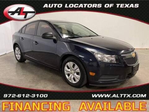 2014 Chevrolet Cruze for sale at AUTO LOCATORS OF TEXAS in Plano TX