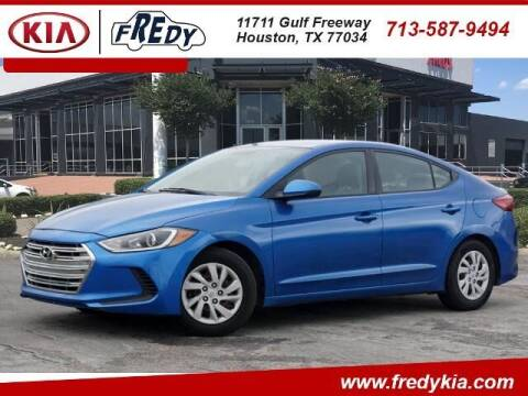 2017 Hyundai Elantra for sale at FREDY KIA USED CARS in Houston TX