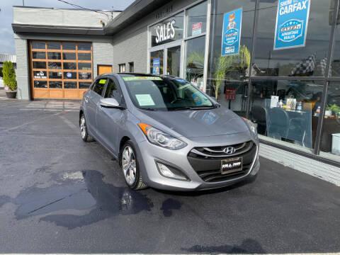 2013 Hyundai Elantra GT for sale at DEL TORO AUTO SALES in Auburn WA