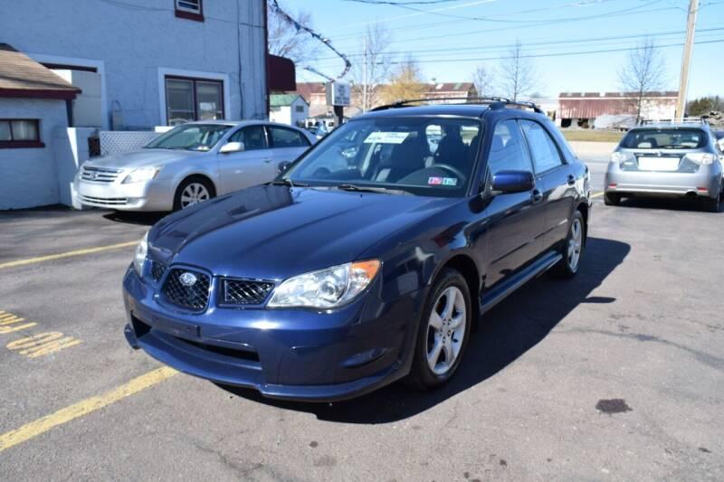 2006 Subaru Impreza for sale at L&J AUTO SALES in Birdsboro PA