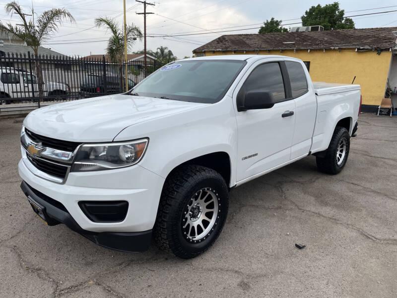 2016 Chevrolet Colorado for sale at JR'S AUTO SALES in Pacoima CA