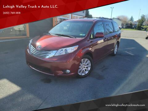 2011 Toyota Sienna for sale at Lehigh Valley Truck n Auto LLC. in Schnecksville PA