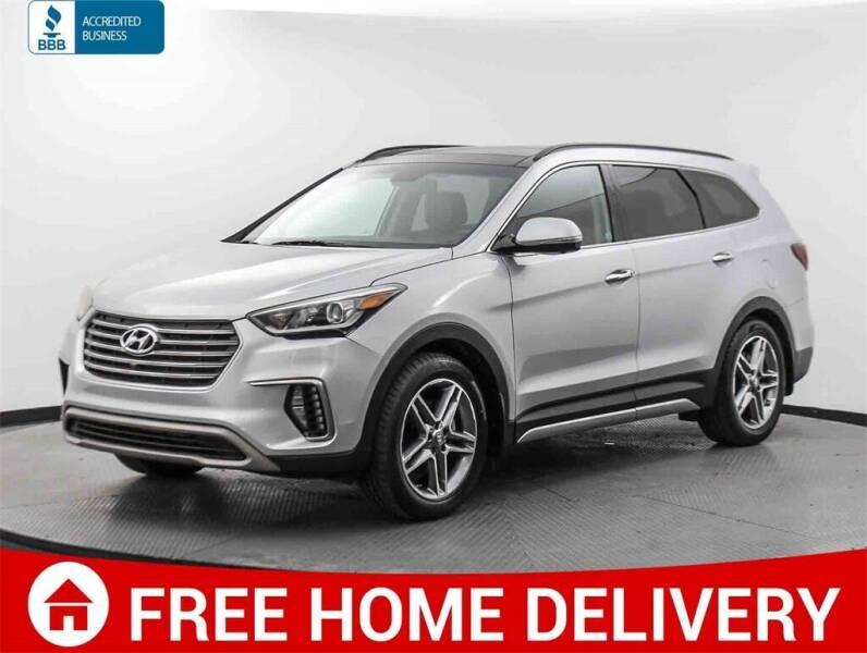 2017 Hyundai Santa Fe for sale at Florida Fine Cars - West Palm Beach in West Palm Beach FL
