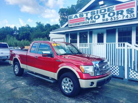 2010 Ford F-150 for sale at EASTSIDE MOTORS in Tulsa OK