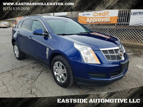 2012 Cadillac SRX for sale at EASTSIDE AUTOMOTIVE LLC in Nashville TN
