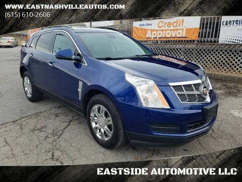 2012 Cadillac SRX for sale at EASTSIDE AUTOMOTIVE LLC in Nashville TN