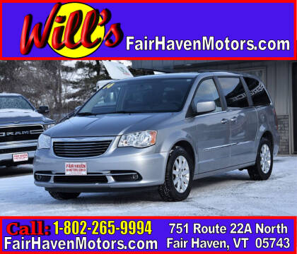 2014 Chrysler Town and Country for sale at Will's Fair Haven Motors in Fair Haven VT