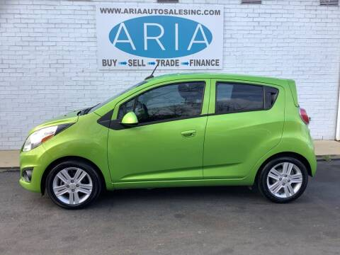 2014 Chevrolet Spark for sale at ARIA  AUTO  SALES in Raleigh NC