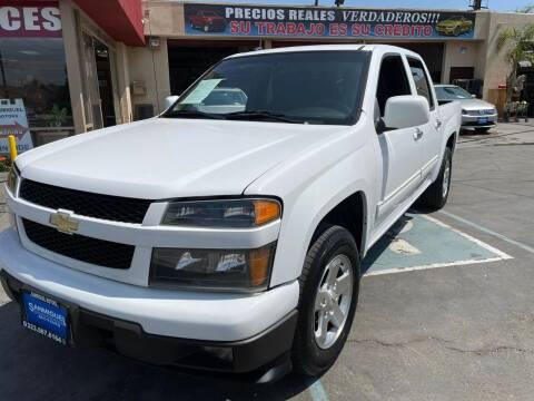 2012 Chevrolet Colorado for sale at Sanmiguel Motors in South Gate CA
