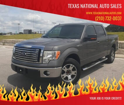 2012 Ford F-150 for sale at Texas National Auto Sales in San Antonio TX