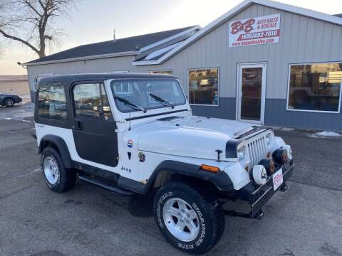 1995 Jeep Wrangler for sale at B & B Auto Sales in Brookings SD
