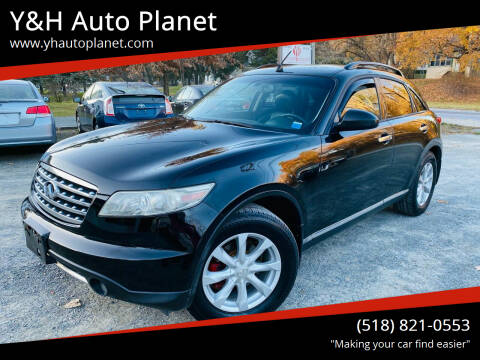 2006 Infiniti FX35 for sale at Y&H Auto Planet in West Sand Lake NY