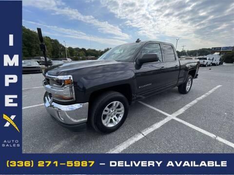 2016 Chevrolet Silverado 1500 for sale at Impex Auto Sales in Greensboro NC
