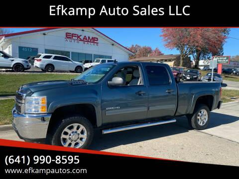 2012 Chevrolet Silverado 2500HD for sale at Efkamp Auto Sales LLC in Des Moines IA