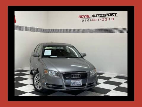 2006 Audi A4 for sale at Royal AutoSport in Sacramento CA